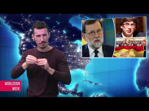 WORLDSIGN | Thailand Election 2018, Uber Launch Sign Language App, Catalonia Crisis and more news…