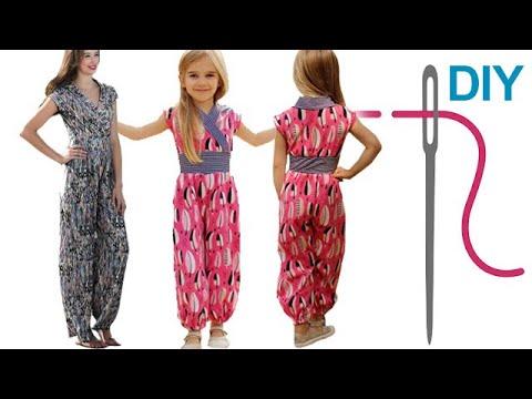 DIY Jumpsuit nähen für Anfänger – Zierstoff Schnittmuster \