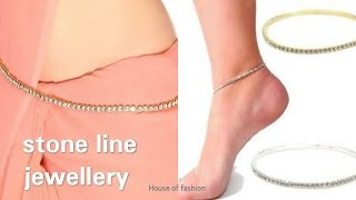 DIY Ideas||How to Make Stone lineJewellery..!!