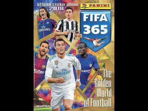 Panini Football Sticker Unwrapping
