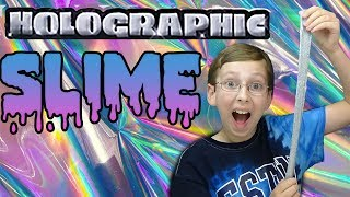 $5 SLIME KIT TESTED  Holographic Slime!! CRAZY GOEY SLIME! Does it work? | CollinTV
