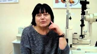 Лечение Катаракты - видео отзыв пациента(Отзыв пациента после проведения операции в ОК Центре., 2016-02-03T10:16:17.000Z)