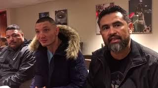 Vyacheslav Shabranskyy discusses title fight against Sergey Kovalev