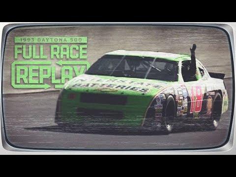 NASCAR Full Race: Dale Jarrett Gives Joe Gibbs His First Win In The 1993 Daytona 500