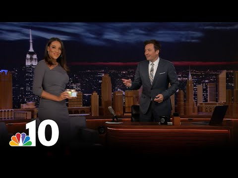 Jimmy Fallon on Impossible Cheesesteaks, Carvel Cakes and His Monologues | NBC10's Philly Live
