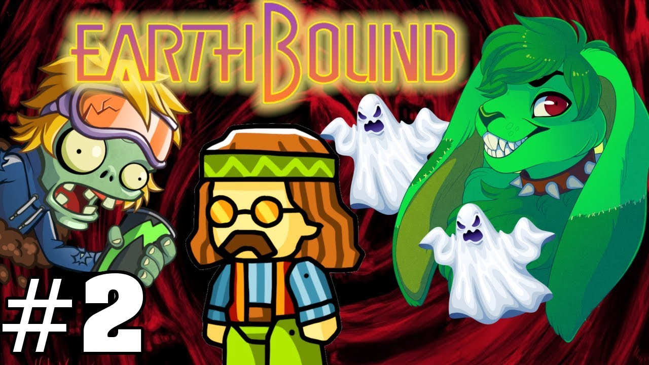 Zombies, And Hippies, And Ghosts... Oh My! - Earthbound Zero [Blind] - Part 2 #1