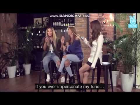 Soyou imitating Jessi in front of Jessi! LOL