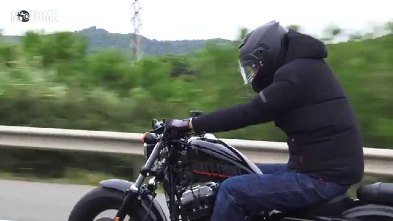 Motor Test Harley Davidson Forty Eight Youtube
