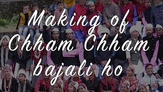 Making of Chham Chham Bajali ho Legendary Singer Pappu Karki JI &amp Mandavi Tripathi