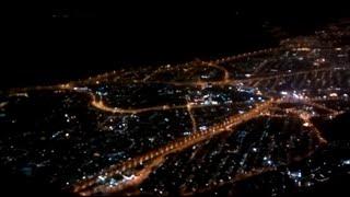 Muscat Airport Flight Landing  -Night Superb View- Rare Video(OMAN Airlines flight landing in muscat Airport, Superb night view. Munich to Muscat., 2015-06-20T07:37:30.000Z)