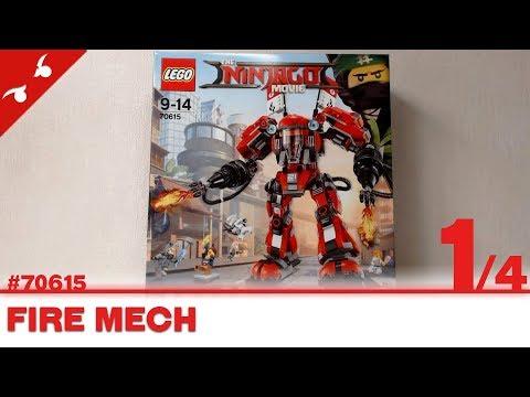 Mech 70615 Fire Ninjago Movie Lego Jouet oQerxCBWd