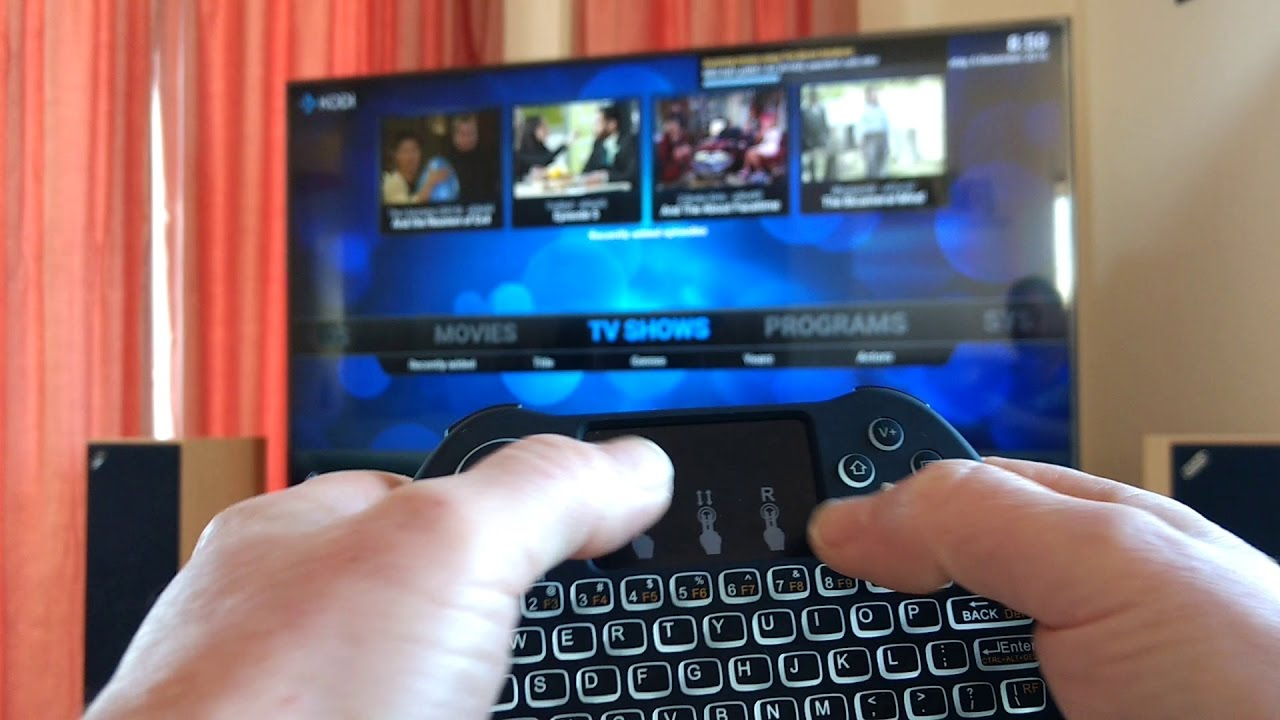 H9 Mini Keyboard On Firetv Pc Youtube