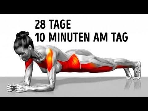 7 einfache Übungen,