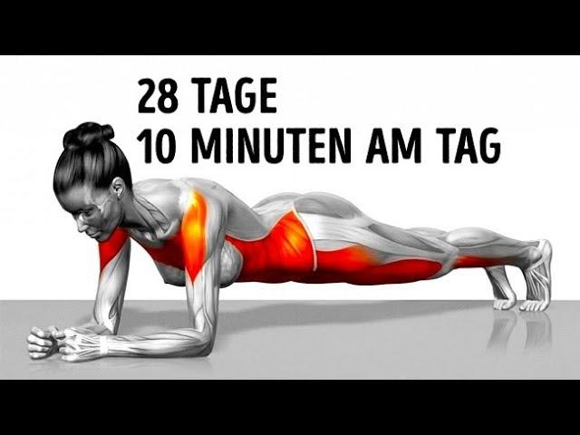 8 einfache Übungen zum Abnehmen