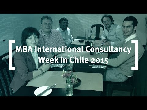 Executive MBA - International Consulting Week in Chile 2015