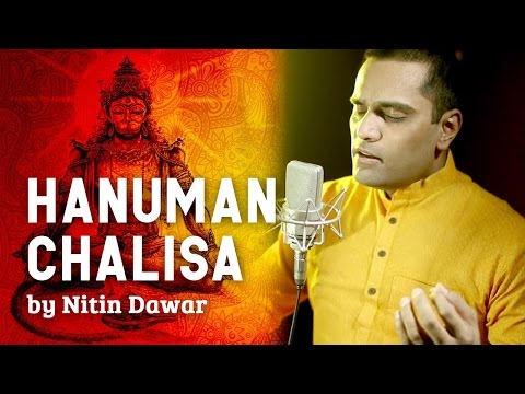 Hanuman Chalisa Full - Nitin Dawar | Video Song & Lyrics | Hanuman Jayanti | Hindi Bhakti Songs
