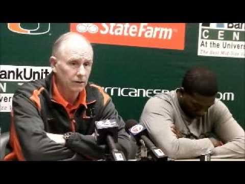 Coach Larranaga and Malcolm Grant talk about the NIT