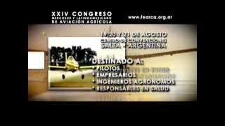 XXIV CONGRESO MERCOSUR Y LATINOAMERICANO DE AVIACIÓN AGRÍCOLA