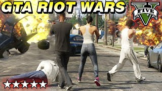 GTA 5 MODS Gameplay: HUGE CITY RIOTS + EPIC EXPLOSIONS - Live Stream 1080p MAX PC Graphics Settings