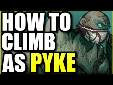THE RANK 1 PYKE ONE SHOWS THE SECRET TO CLIMBING AS PYKE MID IN SEASON 10 (COACHING)