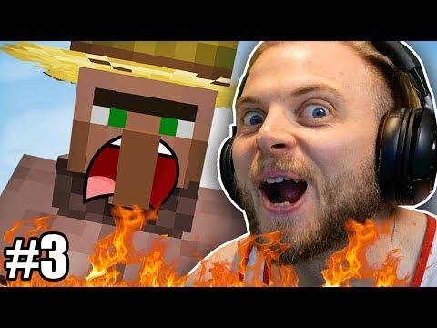 I STOLE A FARMER in Hardcore Minecraft! #3