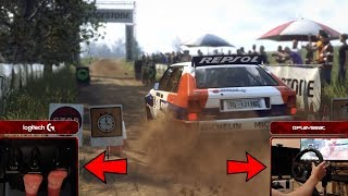 DiRT Rally 2.0 Driving Lancia Delta HF Integrale (Logitech G920 Steering Wheel + Pedals) Gameplay