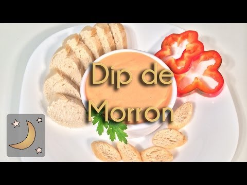 Como Hacer Dip de Morrón - Receta de Salsa de Pimiento Rojo
