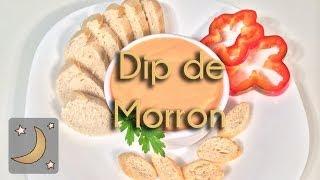 Como Hacer Dip de Morrón – Receta de Salsa de Pimiento Rojo
