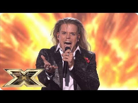 Giovanni Spano performs Let Me Entertain You in sing-off | Live Shows Week 4 | The X Factor UK 2018