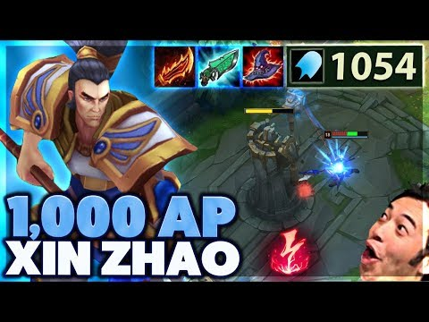 BEST STRATEGY EVER | I HEAL OFF TOWERS | 1000AP XIN ZHAO - BunnyFuFuu