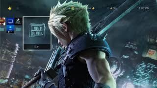 FINAL FANTASY VII REMAKE - Cloud & Sephiroth Dynamic Theme Playstation 4