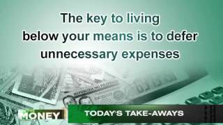 ANC On The Money: Living Below Your Means
