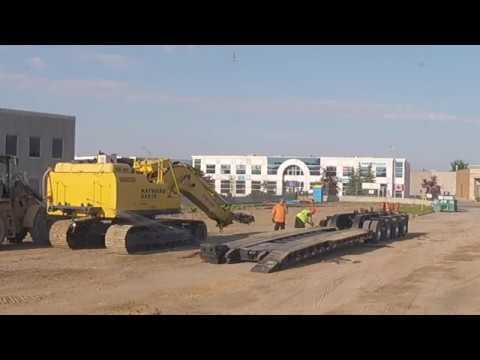 Job Site Delivery In Vaughan, ON, Canada  -- CATERPILLAR 336FL Excavator