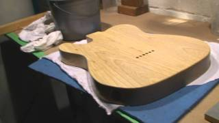 Telecaster Vintage Custom Finish Part 5 Sanding the Sealer