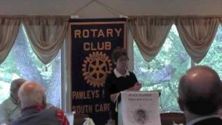 Goffinet Tells Rotary About Plastic Pollution in Oceans.m4v