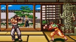 Fighters History SNES - Feilin VS Mizoguchi