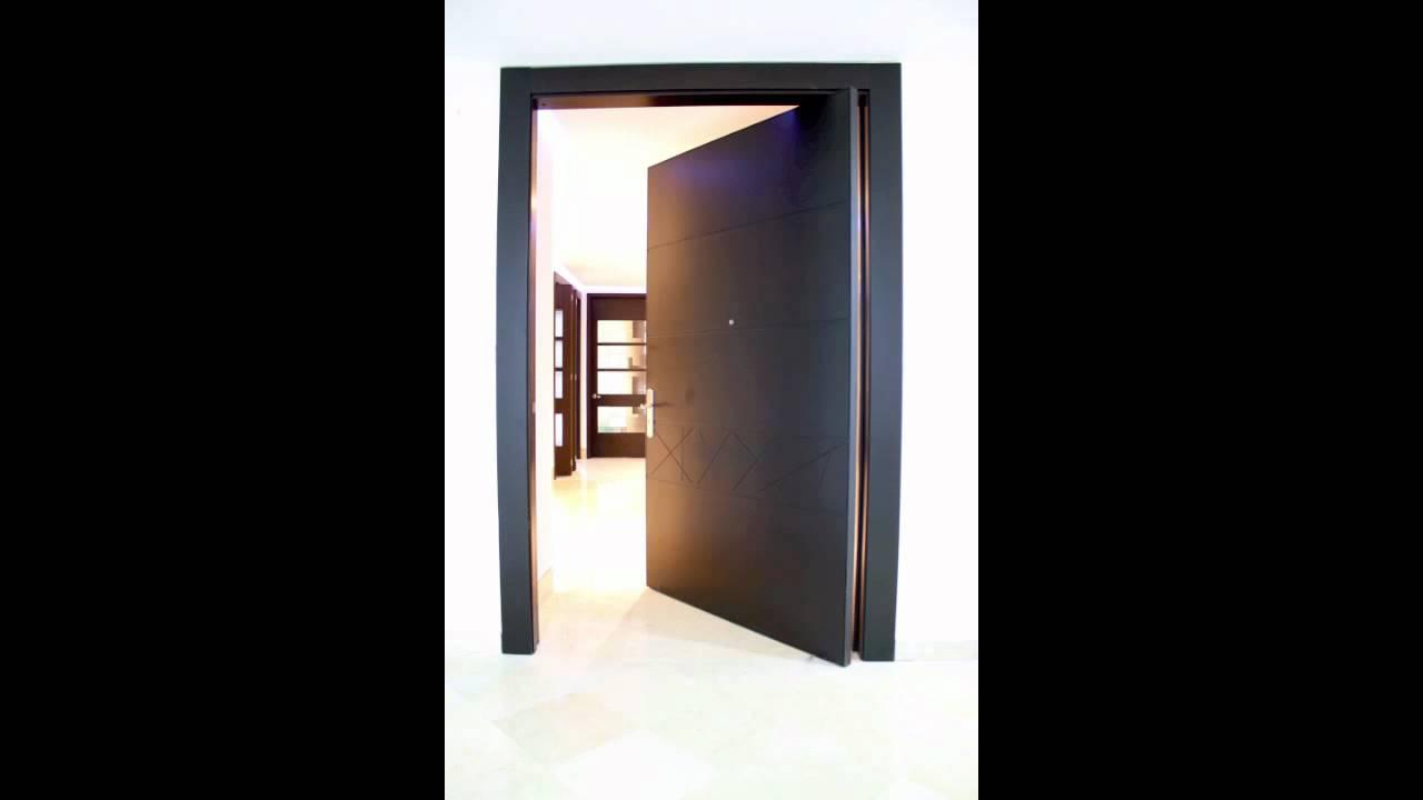 puerta pivotante youtube - Puerta Pivotante