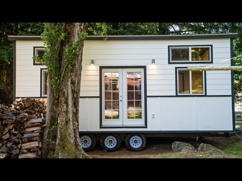 Single Mother's Tiny House Tour