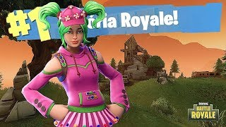 FORTNITE BATTLE ROYALE: ZOEY'S SKIN IS CUTE BUT IT PUTS TOO MUCH FEAR! ' RD Gameplay '