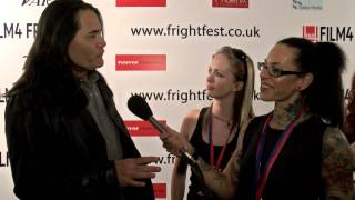 Film4 FrightFest 2015 - Zane Holtz, J LaRose, Rudy Youngblood and Tsulan Cooper On The Red Carpet