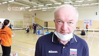 Во дворце спорта «Егорьевск» прошёл чемпионат Московской области по волейболу сидя