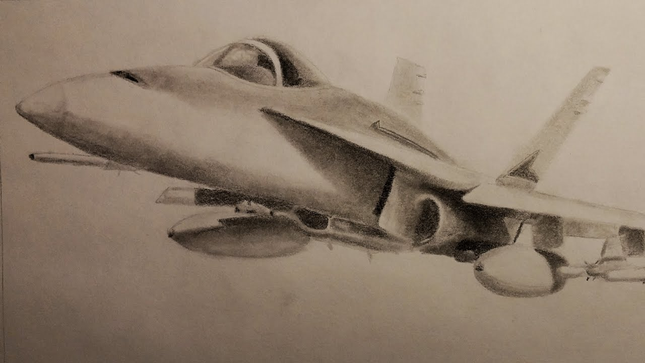wicked plane drawing f 18 fighter jet youtube