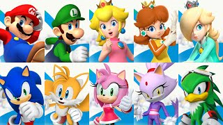 Mario and Sonic at the Rio 2016 Olympic Games - All Characters