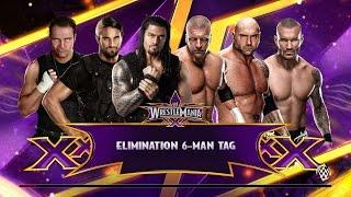 WWE 2K15 PC Gameplay | Shield Vs Evolution | GTX 970 |