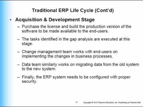 ERP and SDLC