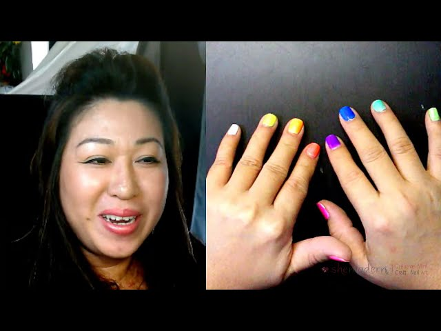 Live Stream Hangout with SheModern to learn creative mini craft art and nail art designs