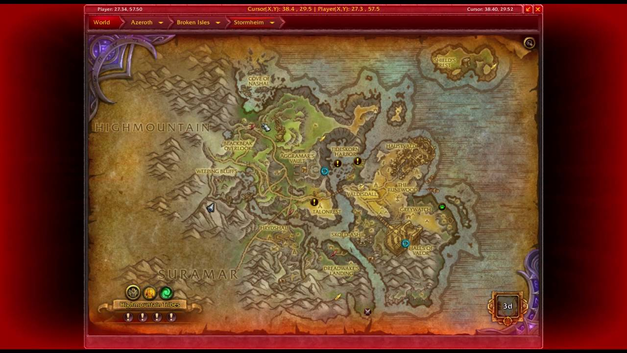 Stormheim treasure chest wow youtube for Wow portent 5 4