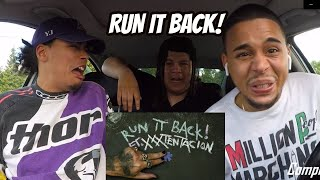 Craig Xen & XXXTENTACION - RUN IT BACK! (Audio) REACTION REVIEW