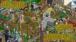My RollerCoaster Tycoon 2 Contest Entry: Organic Superlubricant  *Tied for 1st place!*