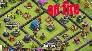 Max lava loons attack on th12|. Best lavaloonion strategy in clash of clans|. 3star attack with max.